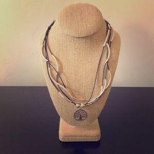 Lizzy James Sterling 4 Strand Necklace/Bracelet